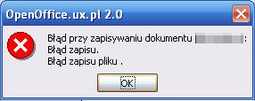OpenOffice.org 2.0 mnie nienawidzi